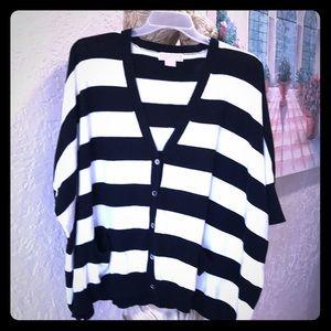Michael Kors cardigan/ sweater size L/ xL